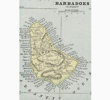 Vintage Map of Barbados (1901) Unisex T-Shirt