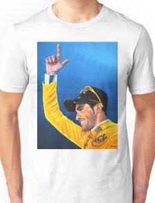 Alberto Contador painting Unisex T-Shirt