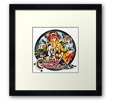 Chrono Trigger Logo Framed Print