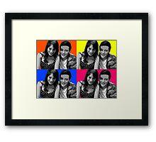 Monchele Pop Art Framed Print