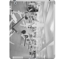 Black and White Weight Room Photograph iPad Case/Skin