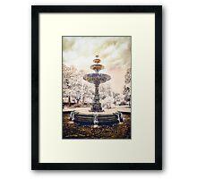 Peace Fountain Framed Print