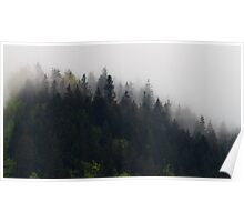 Foggy moutains Poster