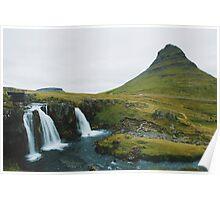 Kirkjufell, Grundarfjör, Iceland Poster