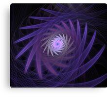 Purple Voice Canvas Print