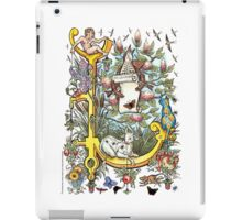 "The Illustrated Alphabet Capital  L  ""Getting personal"" iPad Case/Skin"