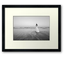 Bride of the sea Framed Print