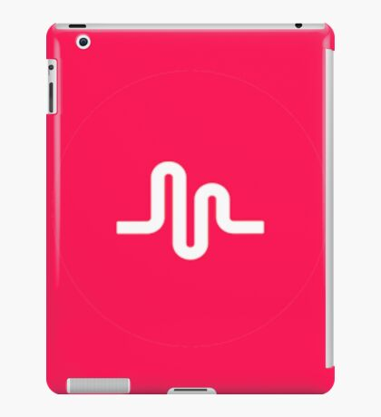 Musical.ly symbol music.ly musically iPad Case/Skin