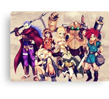 Chrono Team Canvas Print
