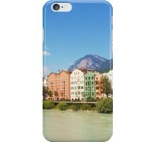 Buildings by the river iPhone Case/Skin