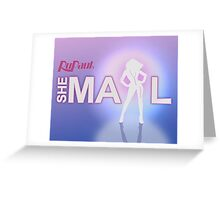 SHE-MAIL Greeting Card