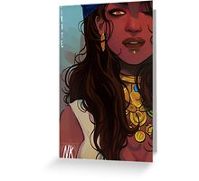 Pirate Isabela Greeting Card
