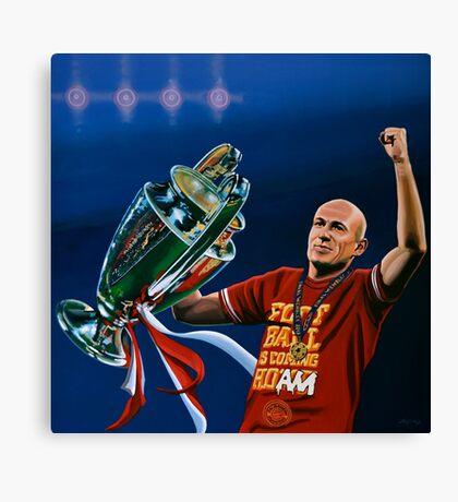 Arjen Robben painting Canvas Print