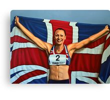 Jessica Ennis painting Canvas Print