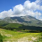 Clouds on Monte Vettore  by annalisa bianchetti