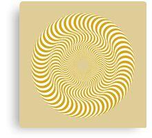 Tan Swirl Canvas Print