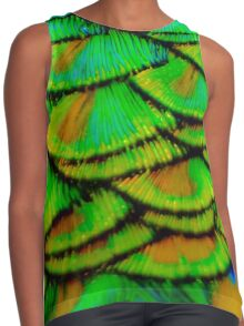 Peacock feather armour Contrast Tank