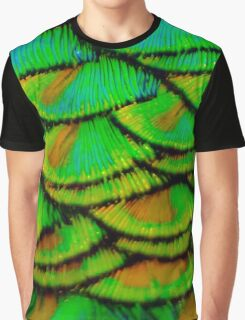 Peacock feather armour Graphic T-Shirt