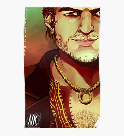 Merchant Prince Varric Poster