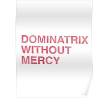Dominatrix Without Mercy Poster