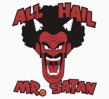 All Hail Mr. Satan Kids Clothes