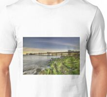 Mossy Rocks At Sunset Unisex T-Shirt