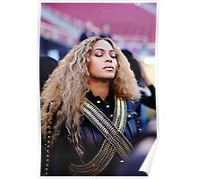 Beyoncé Knowles  Live at SuperBowl 2016 Poster