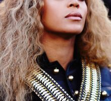 Beyoncé Knowles  Live at SuperBowl 2016 Sticker