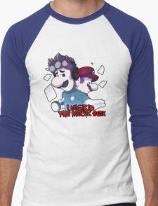 LUIGIKID THE MUSIC BOX Men's Baseball ¾ T-Shirt