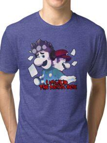 LUIGIKID THE MUSIC BOX Tri-blend T-Shirt