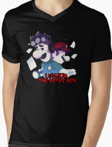 LUIGIKID THE MUSIC BOX Mens V-Neck T-Shirt