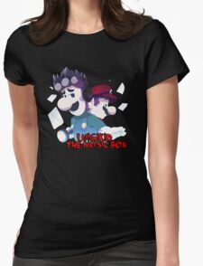 LUIGIKID THE MUSIC BOX Womens Fitted T-Shirt