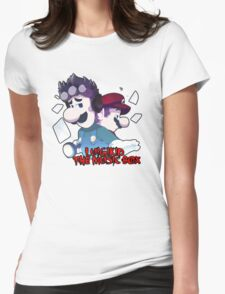 LUIGIKID THE MUSIC BOX Womens Fitted T-Shirt