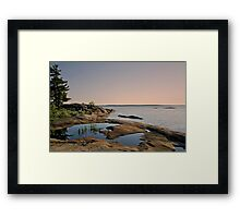 Georgian Bay Twilight Framed Print
