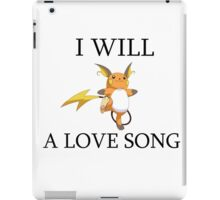 Raichu Love Pun iPad Case/Skin