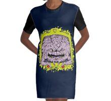 Krang Graphic T-Shirt Dress