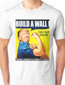 Donald Trump Build Wall Unisex T-Shirt