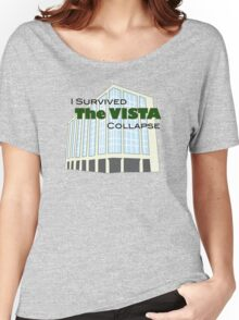 I Survived The Vista Collapse - Norman, OK Women's Relaxed Fit T-Shirt