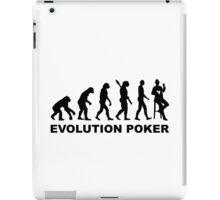 Evolution Poker iPad Case/Skin