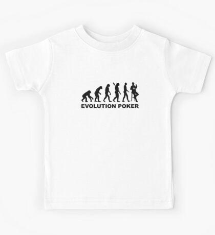 Evolution Poker Kids Tee