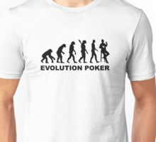 Evolution Poker Unisex T-Shirt