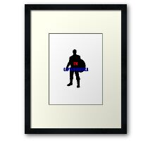Captain America 2 Framed Print