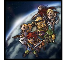 Chrono Chibi Space Photographic Print