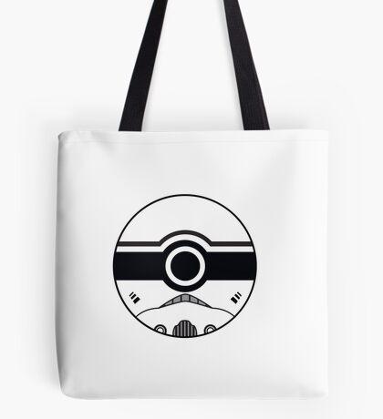 Stormtrooper Pokemon Ball Mash-up Tote Bag