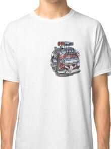 Cartoon turbo engine Classic T-Shirt