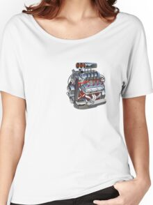 Cartoon turbo engine Women's Relaxed Fit T-Shirt