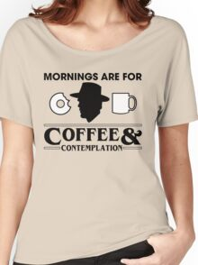 Coffee And Contemplation Women's Relaxed Fit T-Shirt