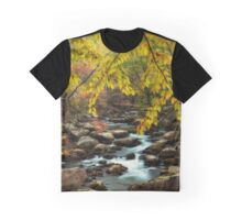 Beautiful Autumn Day at the Stream Graphic T-Shirt