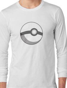 pokeball design Long Sleeve T-Shirt