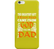 GOD DAD iPhone Case/Skin